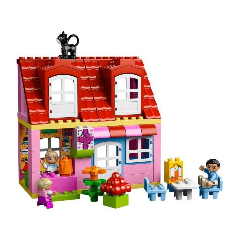 play lego house