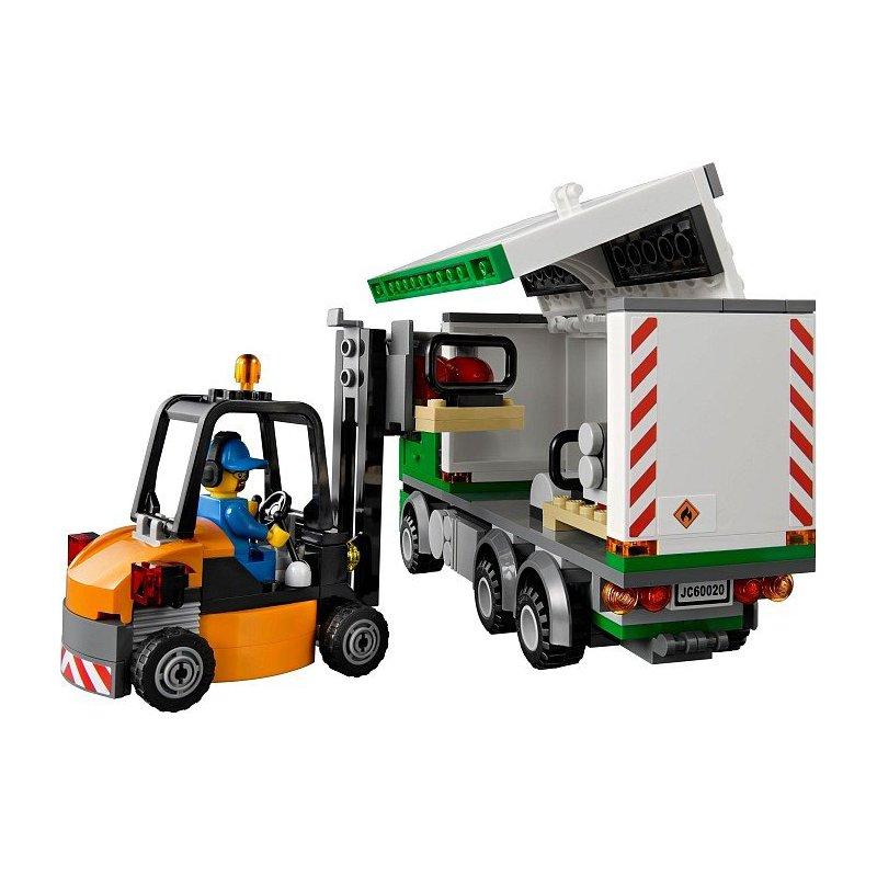 Lego Forklift Instructions 60020