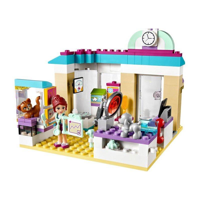 Lego 41085 vet clinic lego sets friends mojeklocki24 for Salon de coiffure lego friends