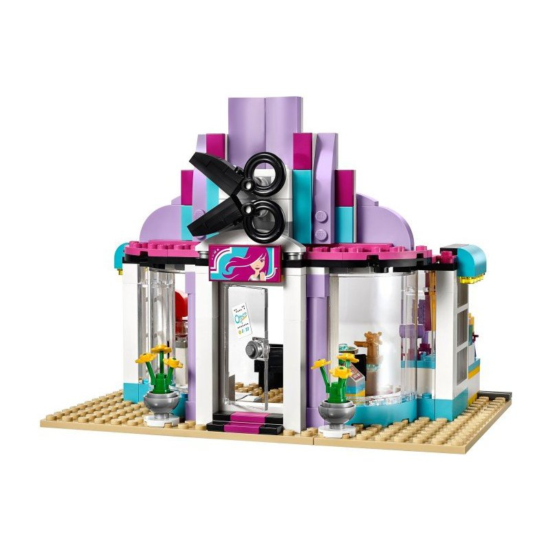 lego friends foal washing station instructions