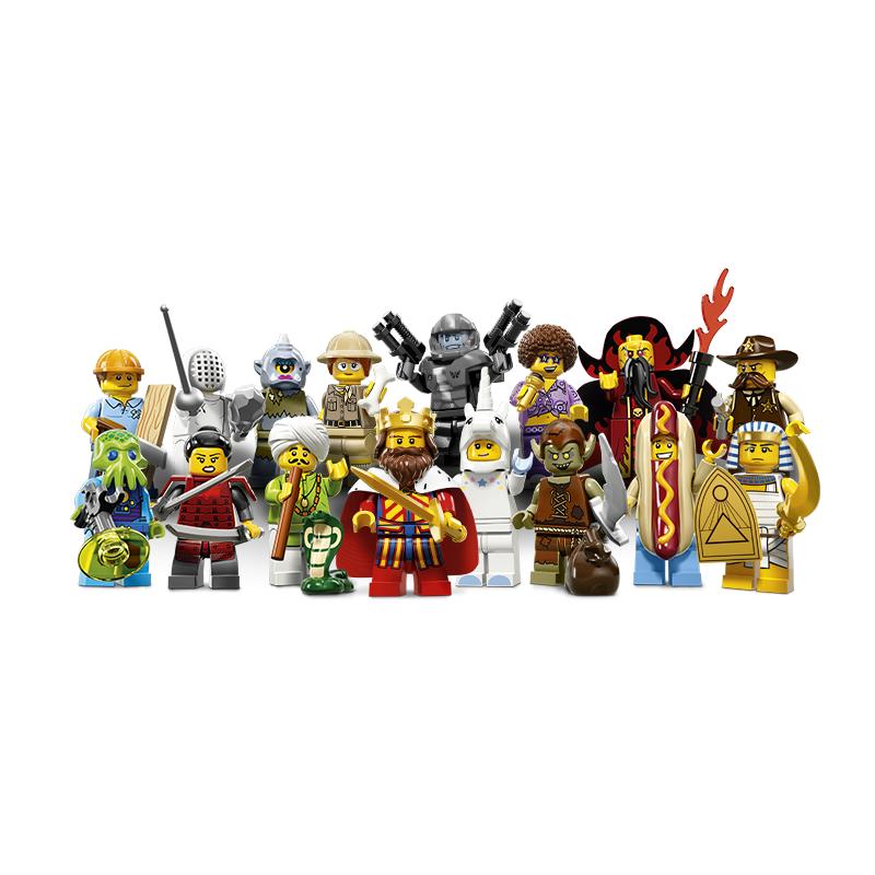 Minifikurki LEGO 71008