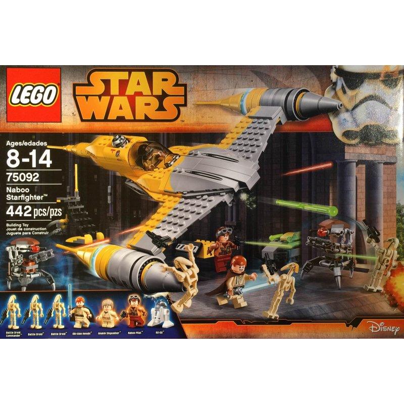 lego naboo fighter instructions