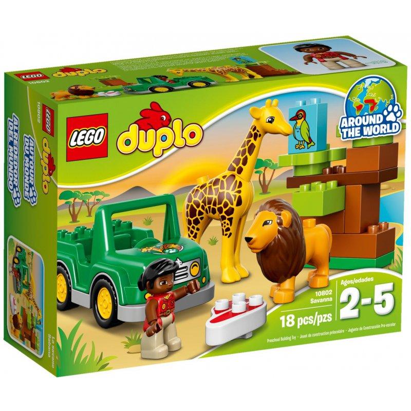 Lego 10802 Savanna, LEGO® Sets DUPLO - MojeKlocki24