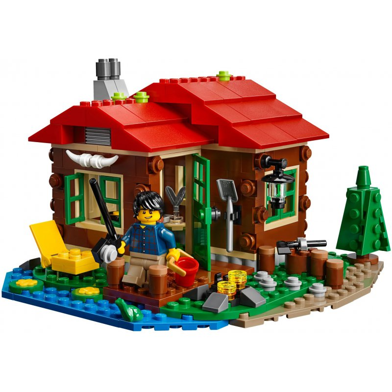 lego lakeside lodge instructions