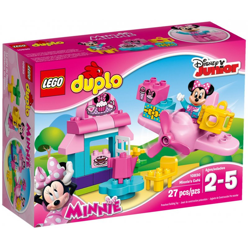 Minnie Mouse Cafe Duplo Instructions