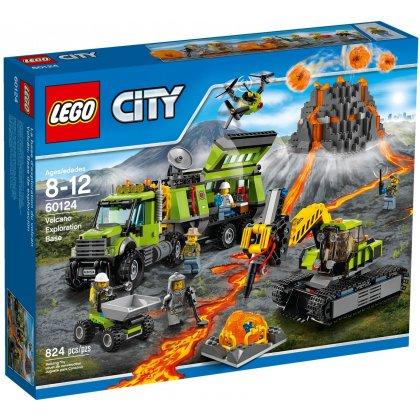 LEGO 60124 Wulkan - baza badaczy wulkanów