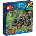 LEGO 70014 Kryjówka na krokodylim bagnie