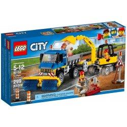 LEGO 60152 Zamiatacz ulic i koparka