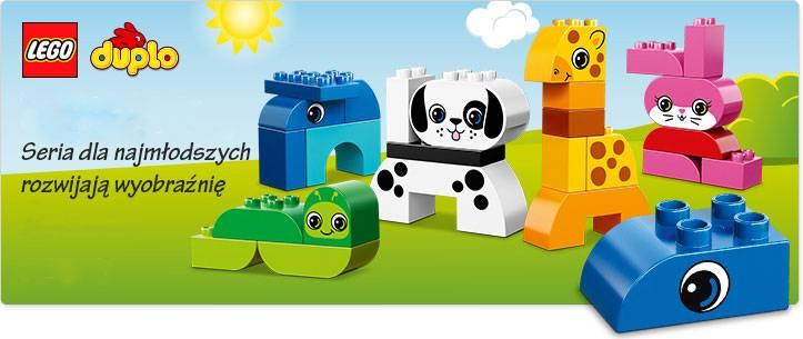 Klocki LEGO ® DUPLO ® dla najmłodszych