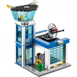 how to build a lego police station instructions