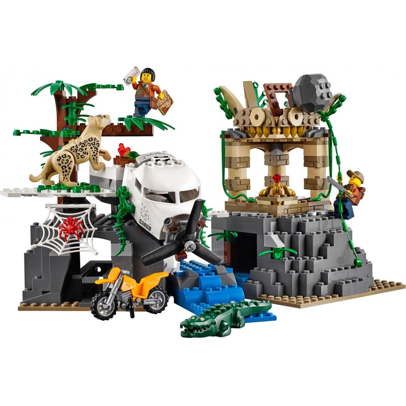Lego 60161 Jungle Exploration Site Lego Sets City Mojeklocki24