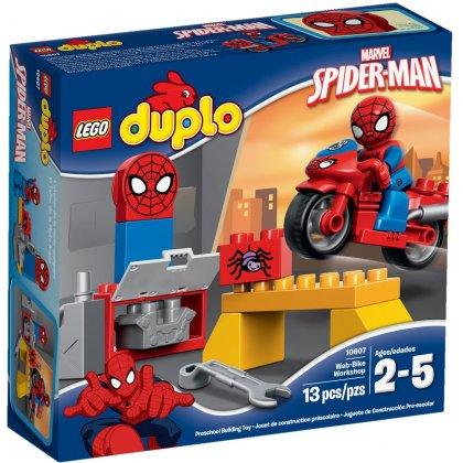 LEGO DUPLO 10607 Motocyklowy warsztat Spider- Mana