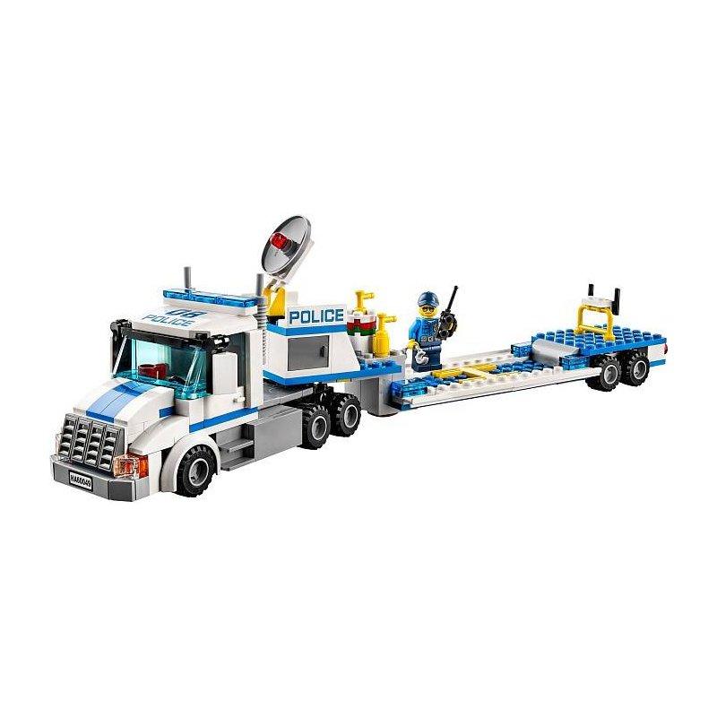 Lego 60049 laweta do przewozu helikoptera klocki lego - Lego city camion police ...