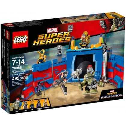 LEGO 76088 Thor kontra Hulk: starcie na arenie