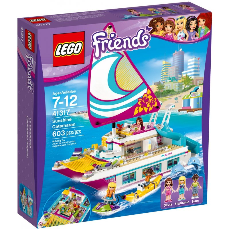 Lego 41317 Sunshine Catamaran Lego 174 Sets Friends