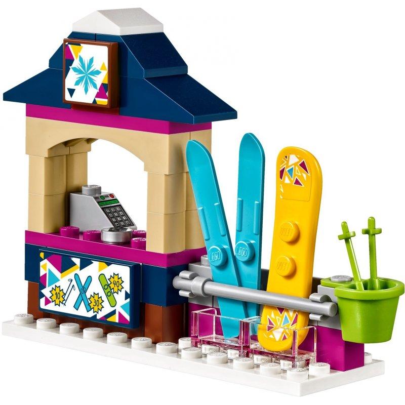 Lego 41324 Wyciąg Narciarski W Zimowym Kurorcie Klocki Lego Friends