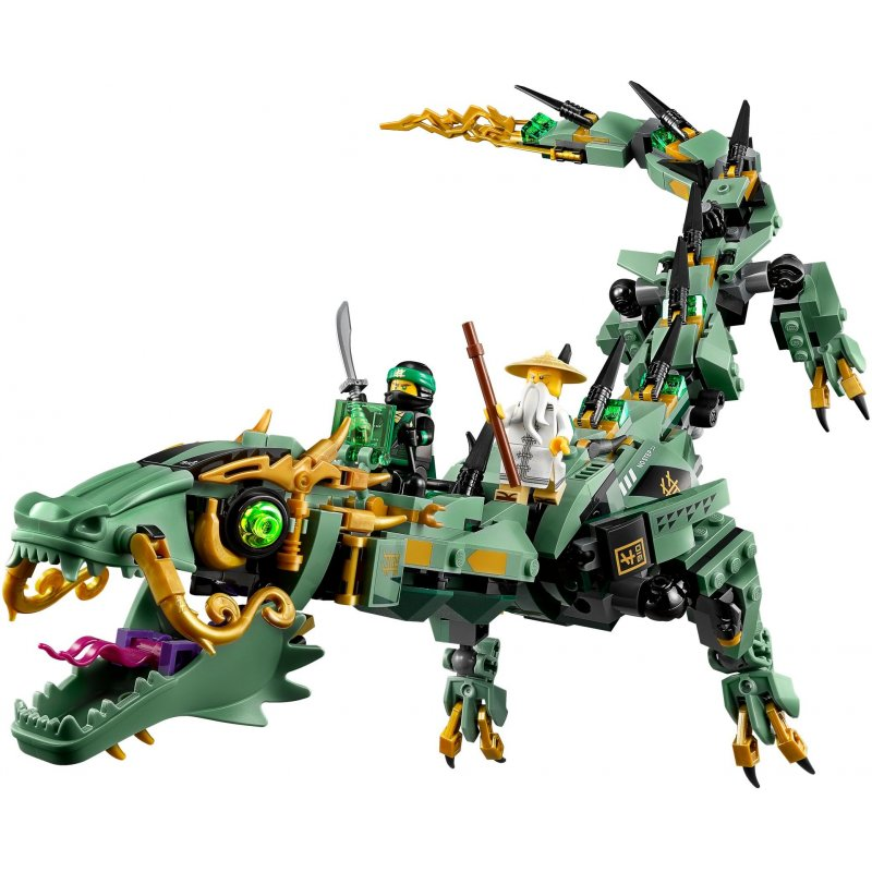 lego 70612 green ninja mech dragon lego sets ninjago. Black Bedroom Furniture Sets. Home Design Ideas