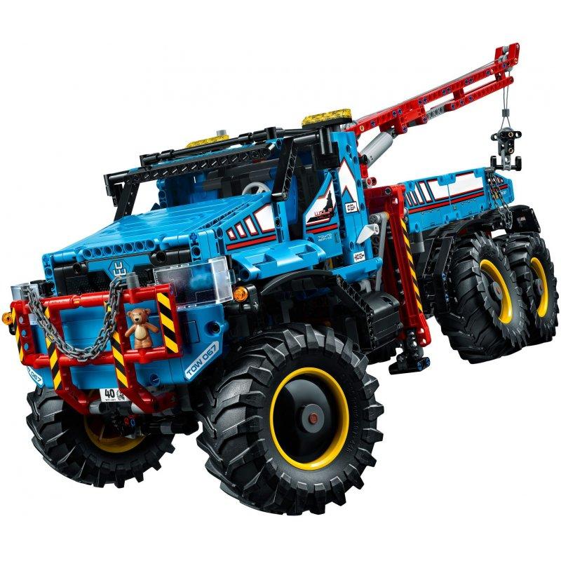 Lego 42070 6x6 All Terrain Tow Truck Lego Sets Technic Mojeklocki24