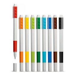 LEGO 51482 Długopisy żelowe 9 kol.