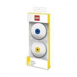 LEGO 51518 Gumki do mazania 2 szt. nieb./żół.