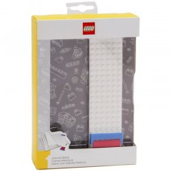 LEGO 51524 Gray notebook with LEGO plate