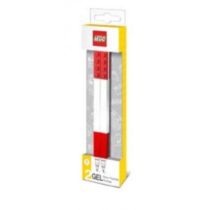 LEGO 51675 Długopisy żelowe 2 szt. czerwone