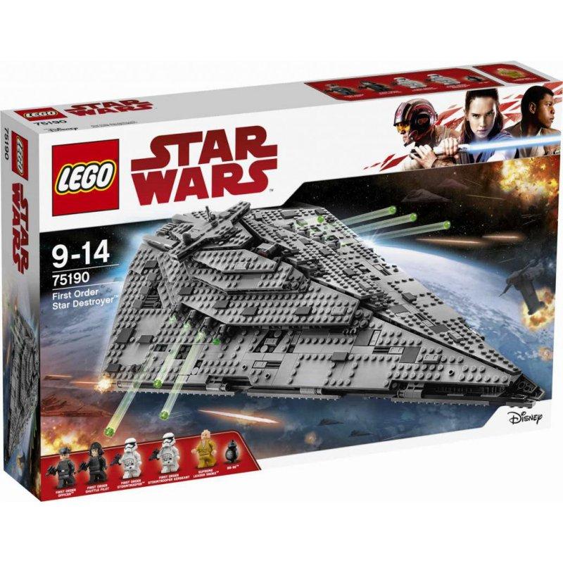 Lego 75190 First Order Star Destroyer, LEGO® Sets Star ...
