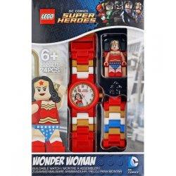 LEGO 8020271 Zegarek na rękę Super Heroes z figurką Wonder Woman