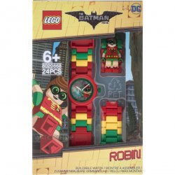 LEGO 8020868 LEGO Batman Robin Kids' Minifigure Link Watch