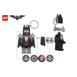 LEGO LGL-KE103G Brelok latarka Batman Glam Rocker