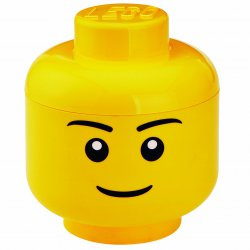 Pojemnik LEGO Głowa Chłopca mała