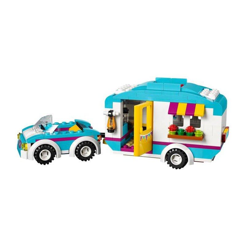 lego friends caravan instructions