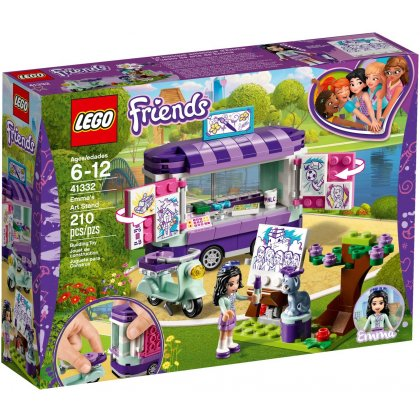 LEGO 41332 Emma's Art Stand