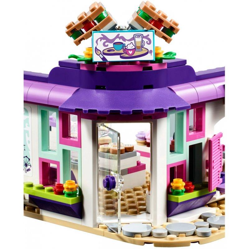 Lego 41336 Artystyczna Kawiarnia Emmy Klocki Lego Friends