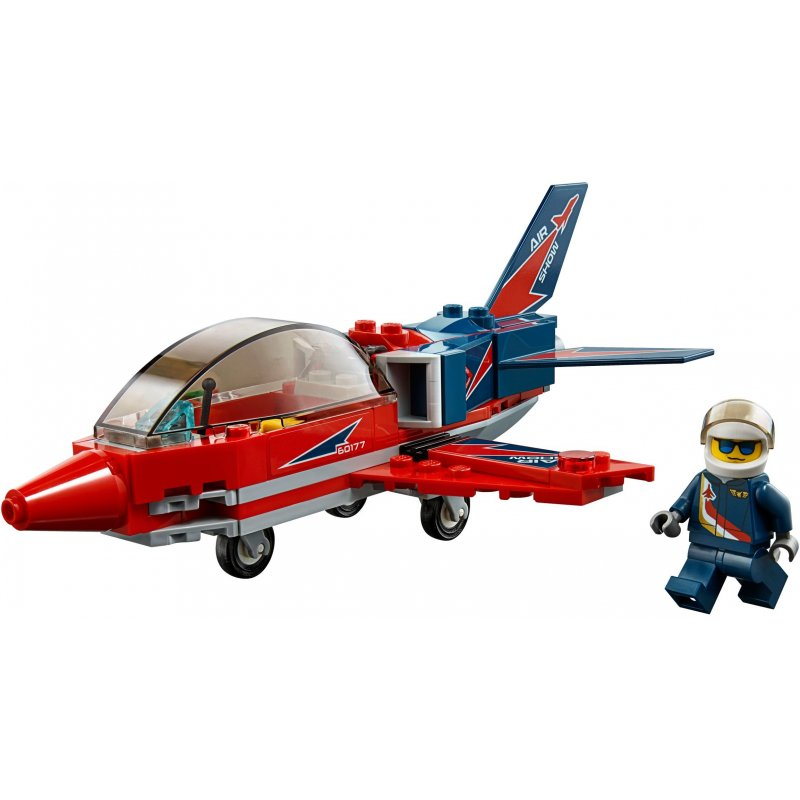 Jet Privato Lego City : Lego airshow jet sets city mojeklocki