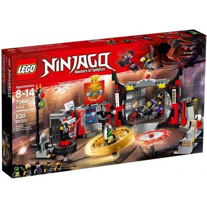 LEGO 70640 Kwatera główna S.O.G.