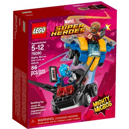 LEGO 76090 Mighty Micros: Star-Lord vs. Nebula