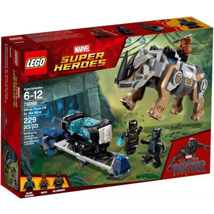LEGO 76099 Pojedynek z nosorożcem w pobliżu kopalni