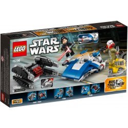 LEGO 75196 A-Wing™ kontra TIE Silencer™