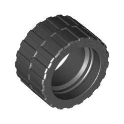 89201 Tyre Low Wide Ø24 X 14