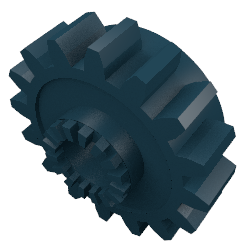 LEGO 6542 Gear Wheel Z16-Ø4.9