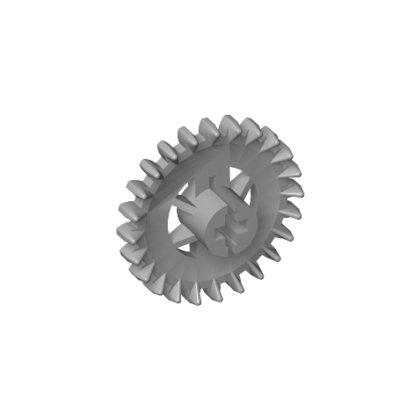 LEGO 3650 Crown- And Gear Wheel Z24