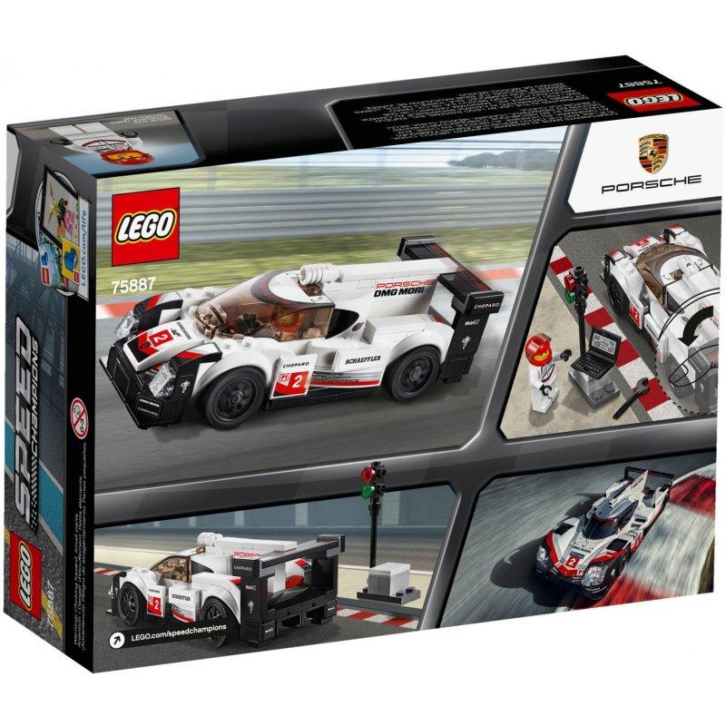 lego 75887 porsche 919 hybrid lego sets speed champions. Black Bedroom Furniture Sets. Home Design Ideas