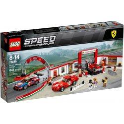 LEGO 75889 Rewelacyjny warsztat Ferrari
