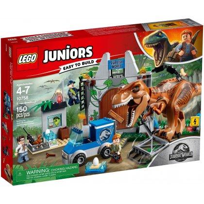 LEGO 10758 T. rex na wolności