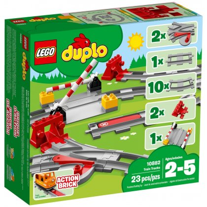LEGO DUPLO 10882 Tory kolejowe
