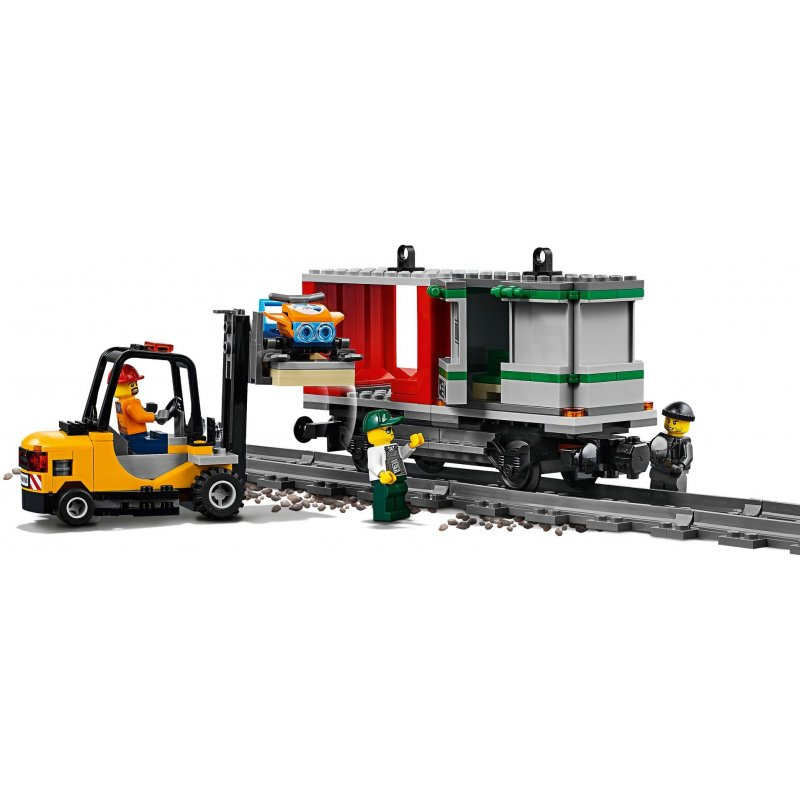 Lego 60198 Pociąg Towarowy Klocki Lego City Mojeklocki24