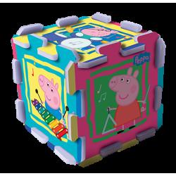 Układanka-puzzlopianka - Świnka Peppa