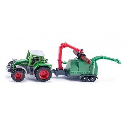 Siku Super: Seria 16 - Traktor z sieczkarnią 1675
