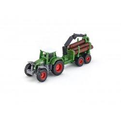 Siku Super: Seria 16 - Traktor z leśną przyczepą 1645
